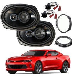 vehicle electronics gps fits chevy impala 2000 2016 rear deck replacement harmony ha r69 speakers car speakers speaker systems [ 1000 x 1000 Pixel ]