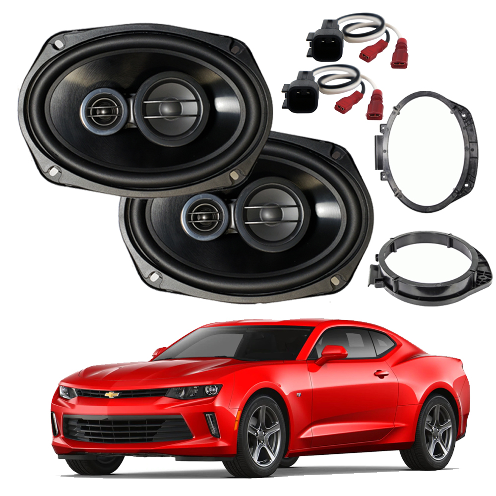 hight resolution of vehicle electronics gps fits chevy impala 2000 2016 rear deck replacement harmony ha r69 speakers car speakers speaker systems