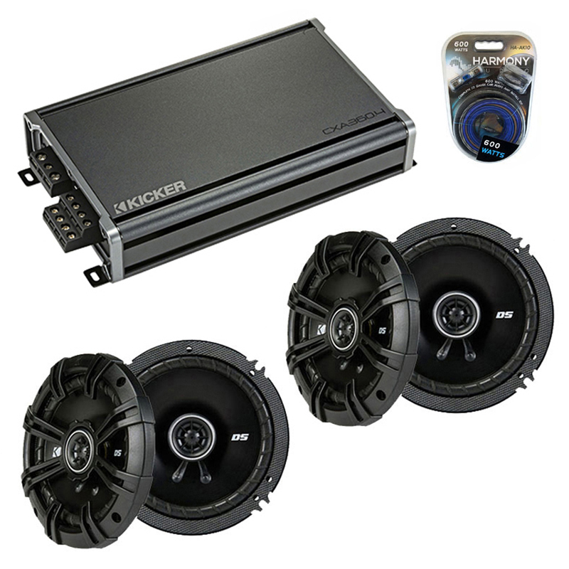 Wiring 6 Speakers To 4 Channel Amp