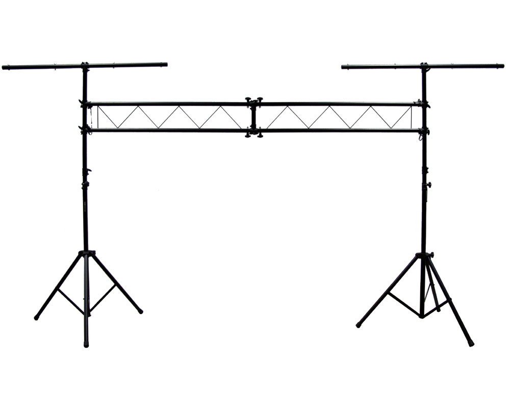 (2) 4Bar Complete Stage LED Chauvet Light Package with (2
