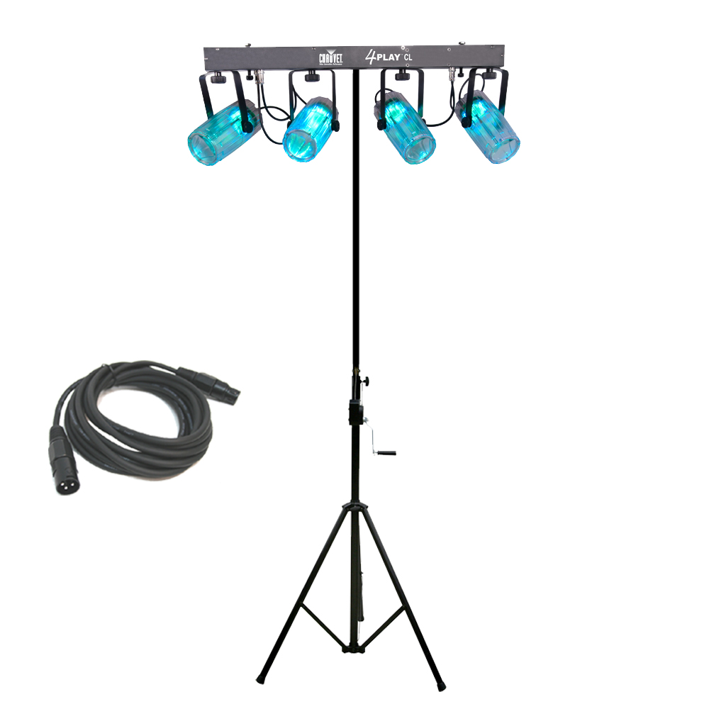 4PLAYCL Beam Effect Stage LED Chauvet Light Bar with DMX