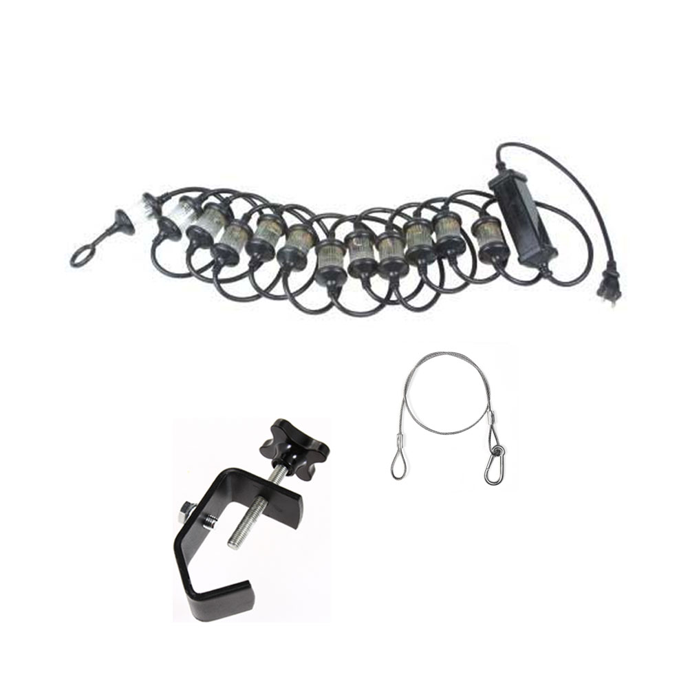 American DJ FLASH ROPE Indoor/Outdoor 15-Foot 12-Strobe