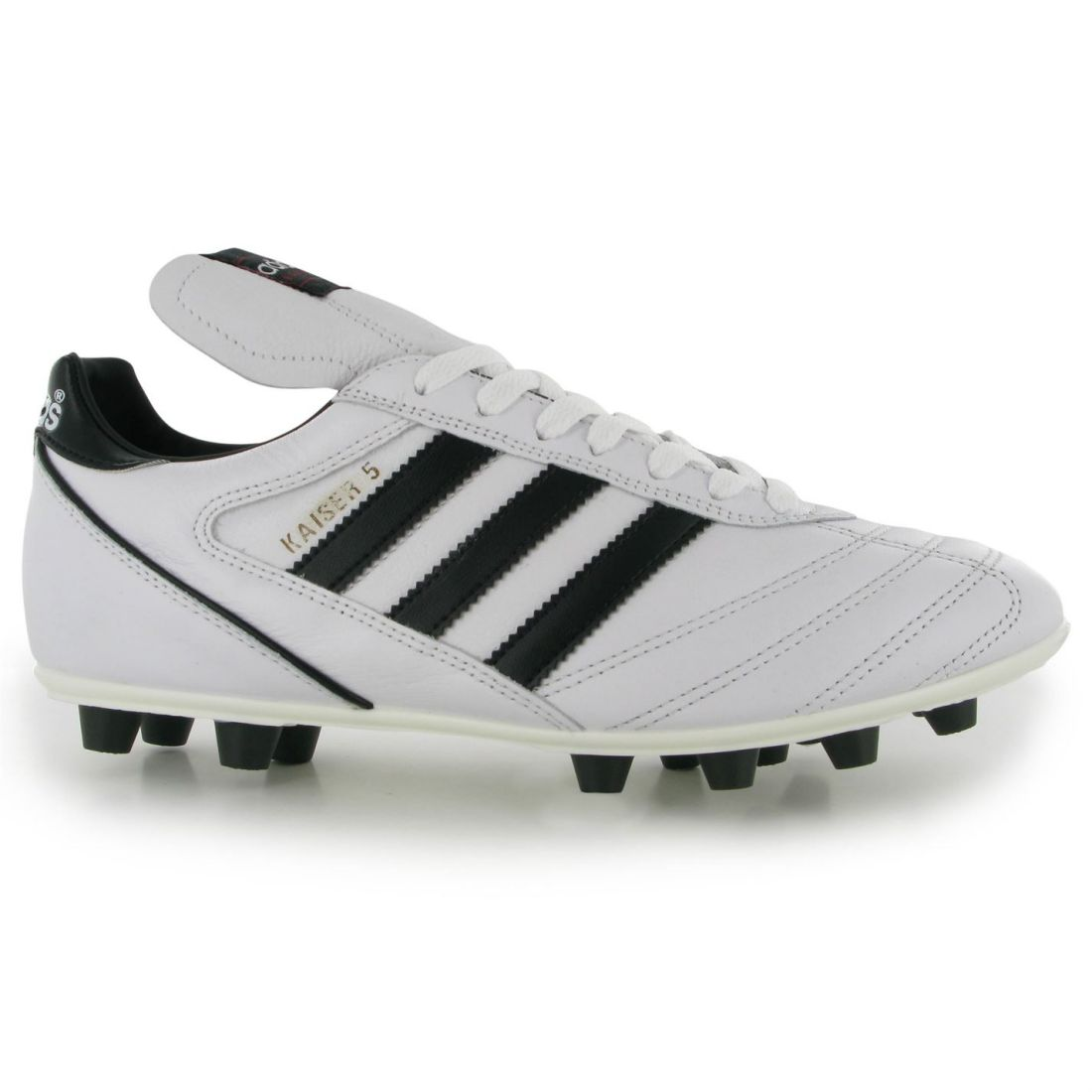 4c123eadf69c Details About Adidas Mens Gents Kaiser Liga Fg Football Boots Laces  Fastened Shoes Footwear
