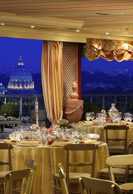 Rome Cavalieri lHotel del matrimonio da un milione di dollari  Styleit