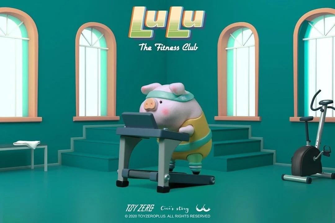 LULU豬推出「搞笑運動系列」!超緊身韻律裝+健身姿勢   GirlStyle 臺灣女生日常