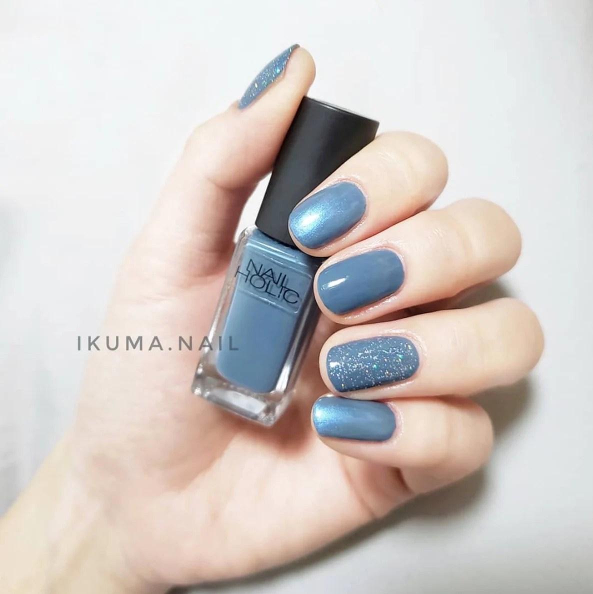 盤點6款「灰藍色美甲」仙氣爆棚!絕美「莫蘭迪色」灰霧感顯白更精緻   GirlStyle 臺灣女生日常