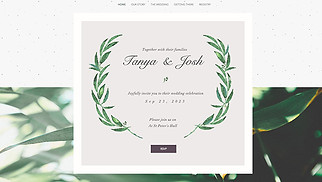 Weddings Website Templates Events