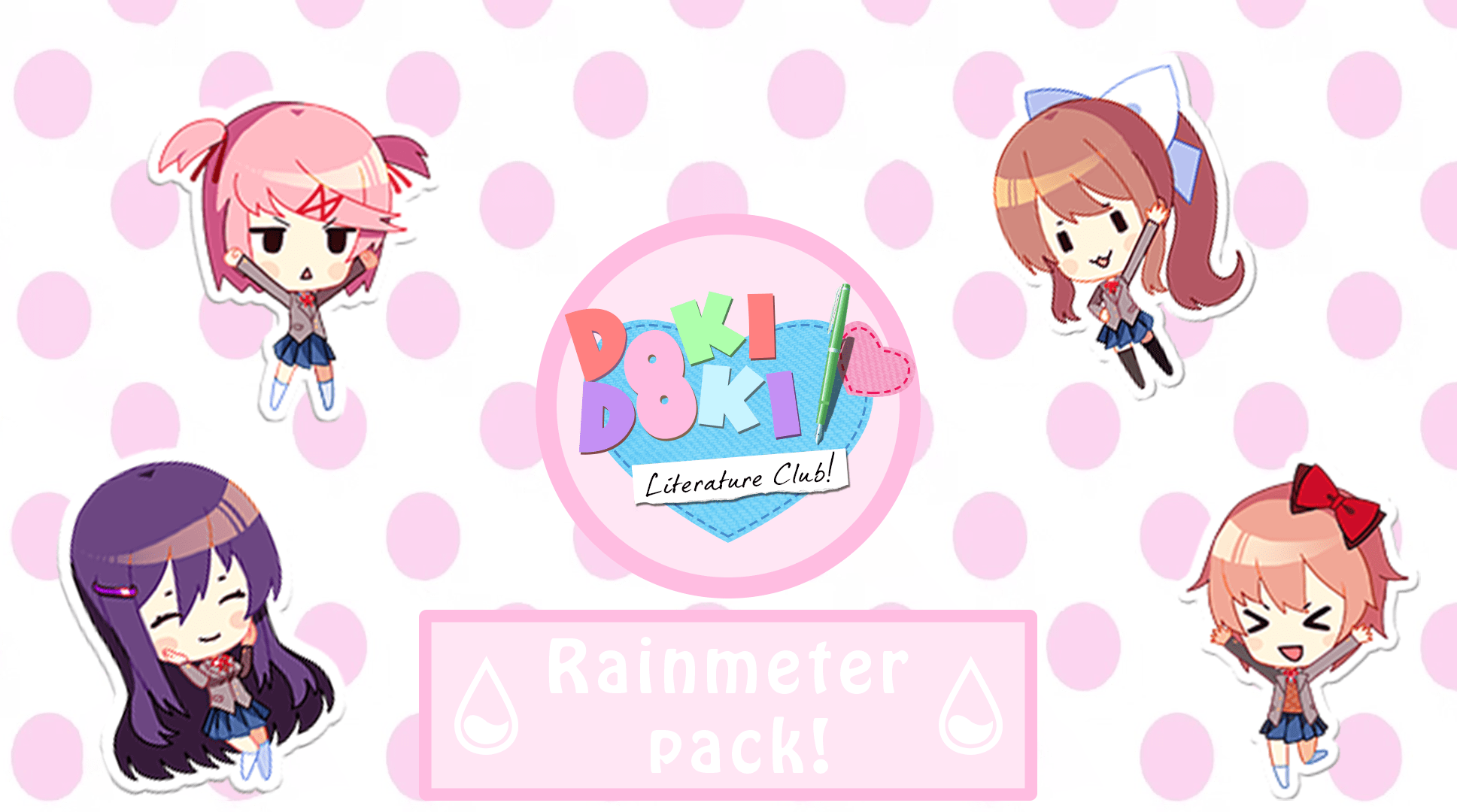 You may order presentation ready copies to distribute to your colleagues,. (Rainmeter) DDLC Pack 1.3 (Beta) by MrSneakyPhotoShop on