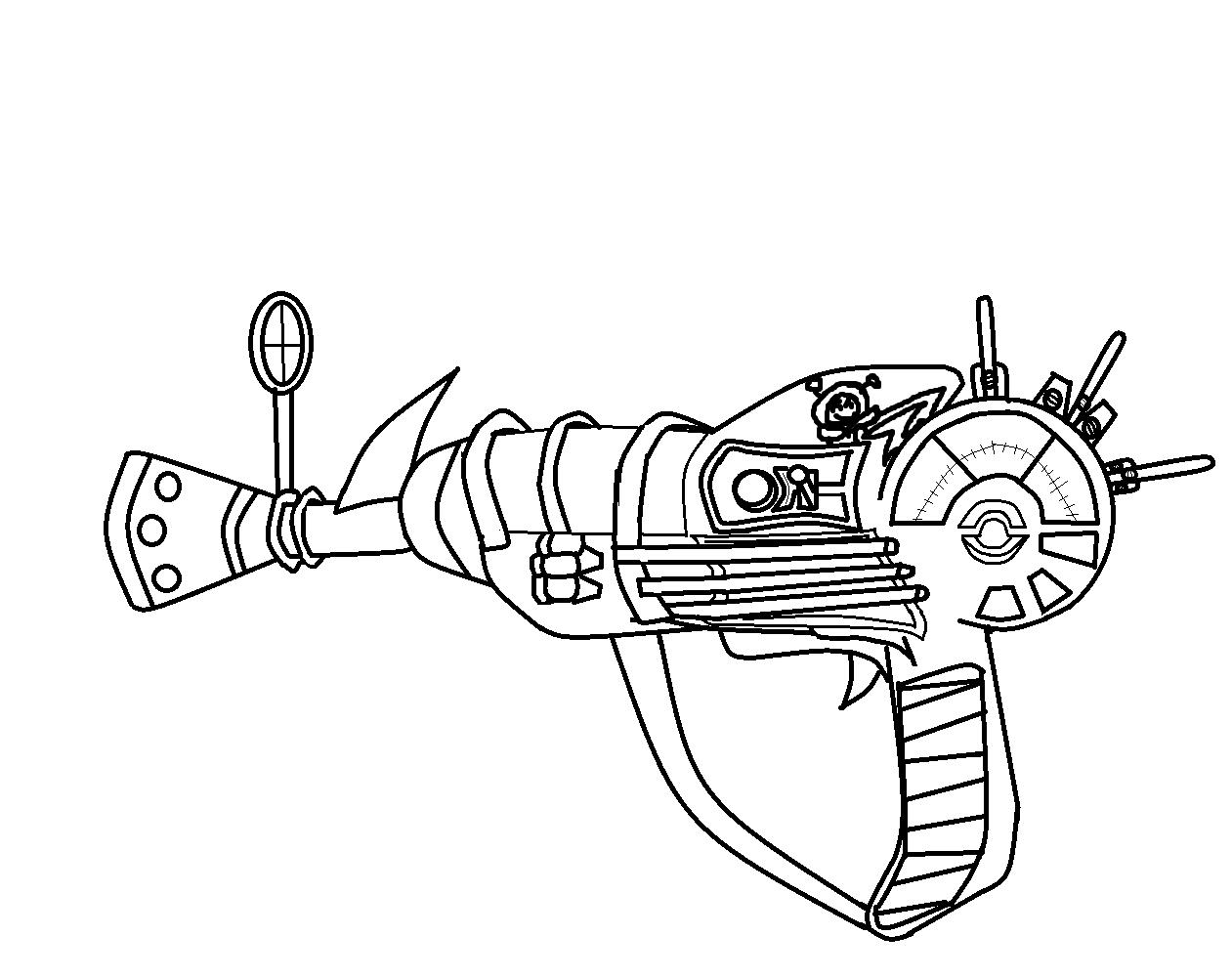Ray Gun by GokuAndSonic on DeviantArt