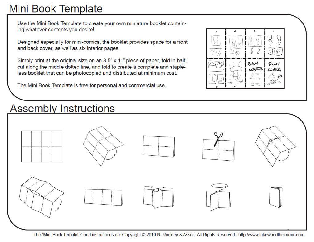 book folding instructions free