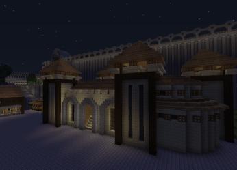 Minecraft: small town hall by hesterfunhart on DeviantArt