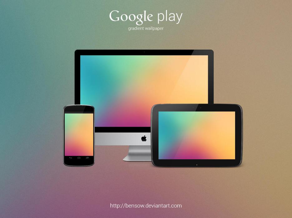 Google Play Gradient