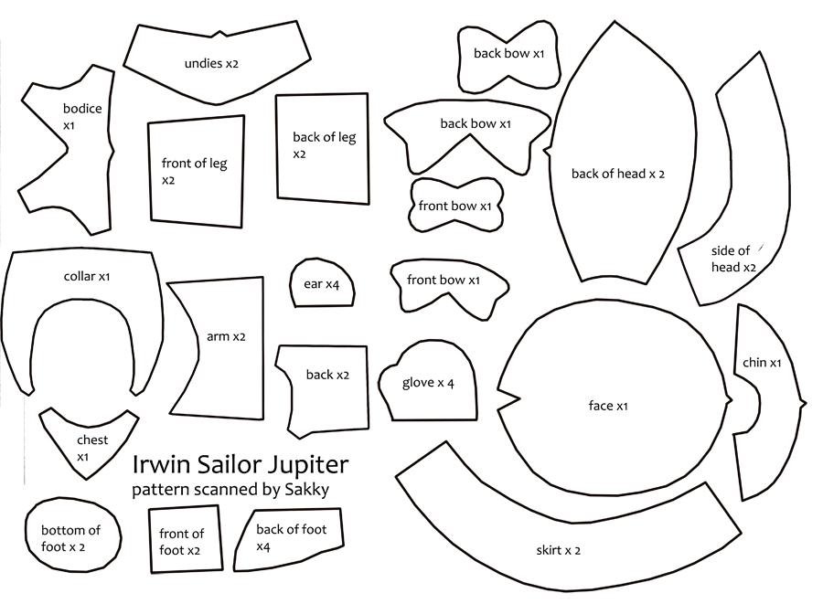 Irwin Sailor Plush Pattern by SarahForde on DeviantArt
