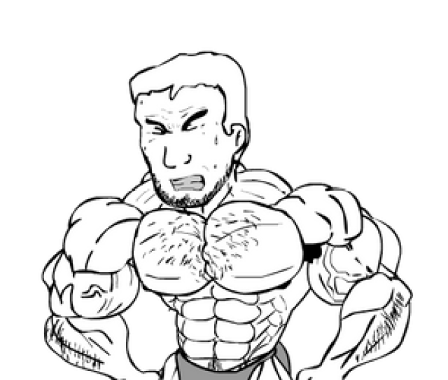Salvador Muscle Growth Animation Salvador503 Style By Salvador503
