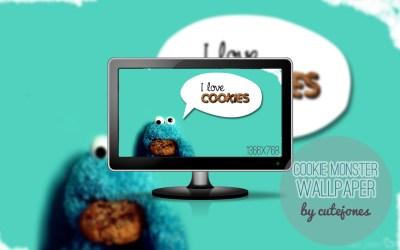 Cookie Monster wallpaper by CuteJones on DeviantArt