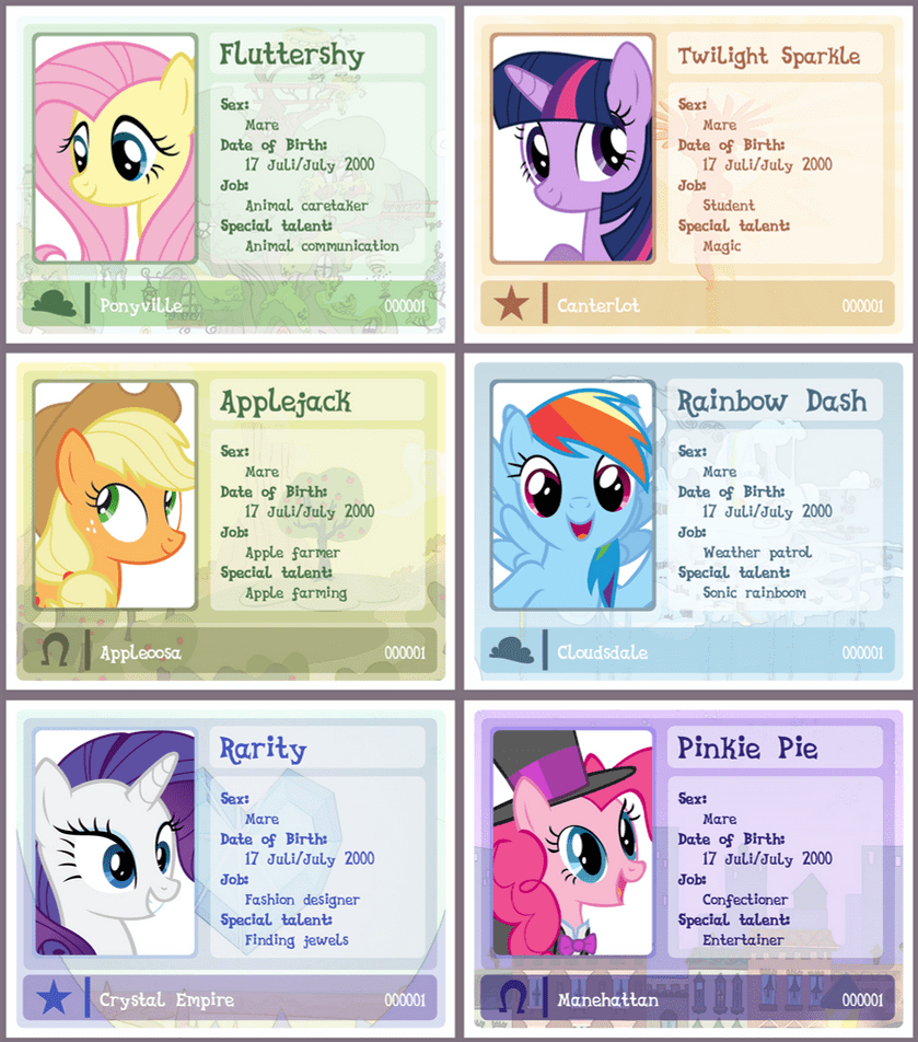 hight resolution of mlp id card template updated