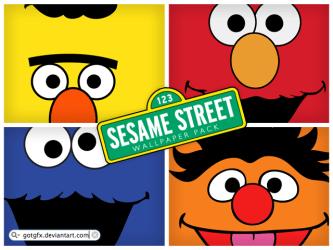 Sesame Street wallpaper pack by GotGfx on DeviantArt