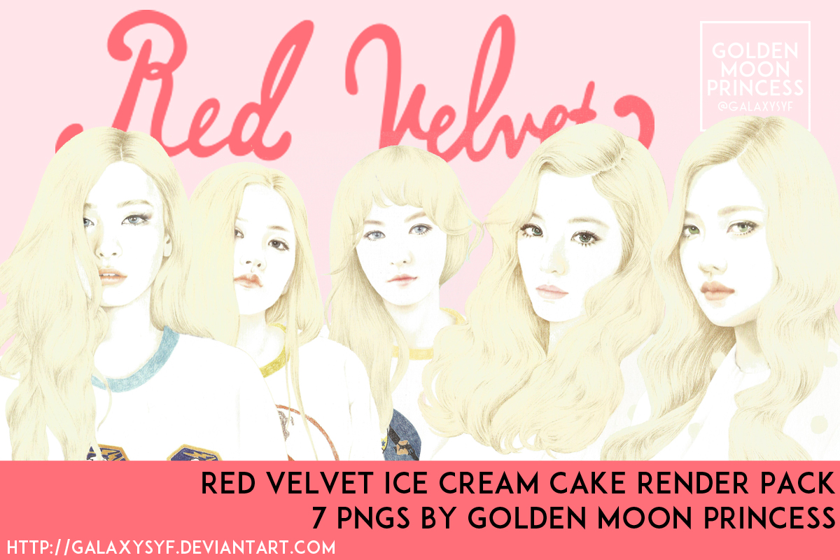 Red Velvet Ice Cream Cake Render Pack 7 Pngs By Galaxysyf On Deviantart