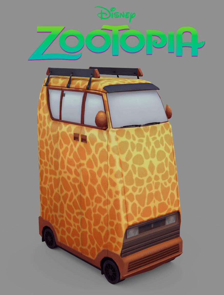Zootopia Car : zootopia, Zootopia, Giraffe, Maxdemon6, DeviantArt