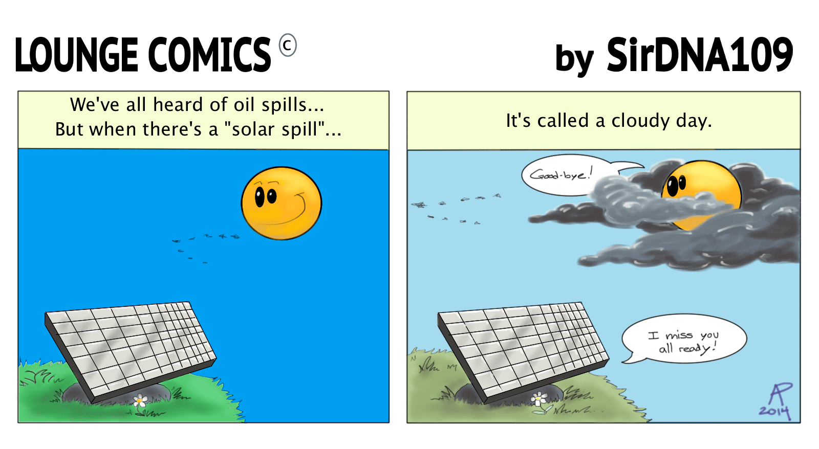 Lounge Comics Solar Spill By Sirdna109 On Deviantart