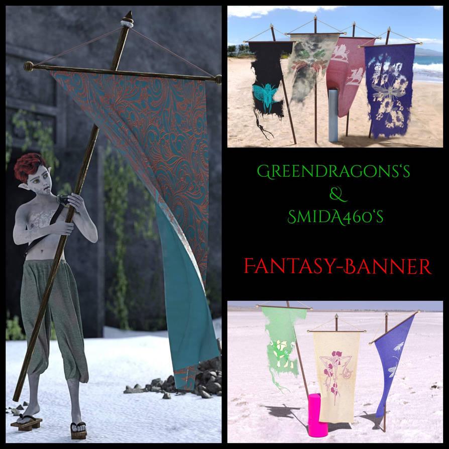 fantasy banner freebie by