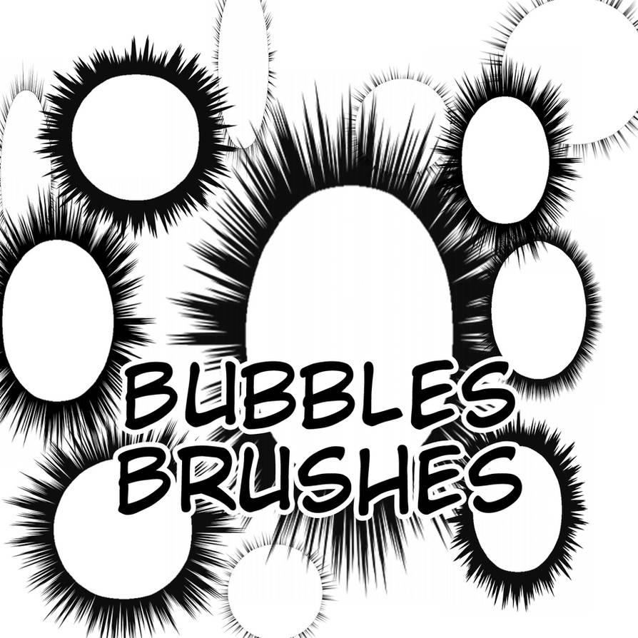 Speech Bubbles Brushes by flameshaft on DeviantArt
