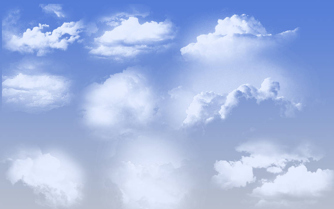 hight resolution of cloud brushes by unixium by unixium