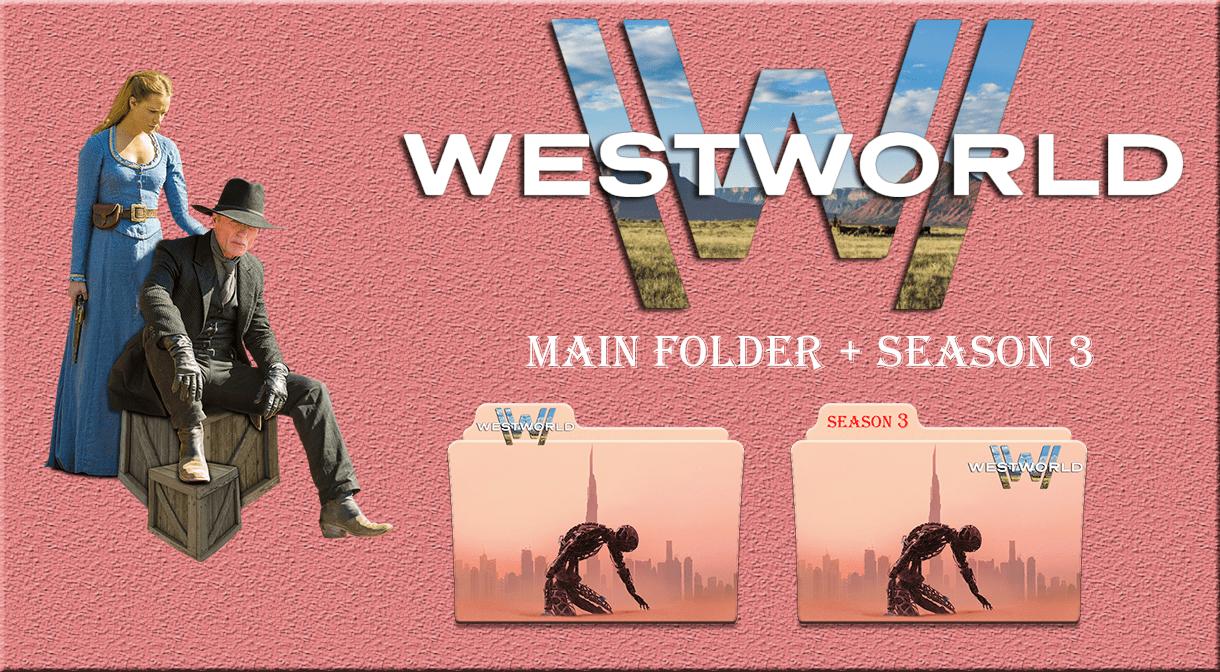 westworld main folder season 3 icons