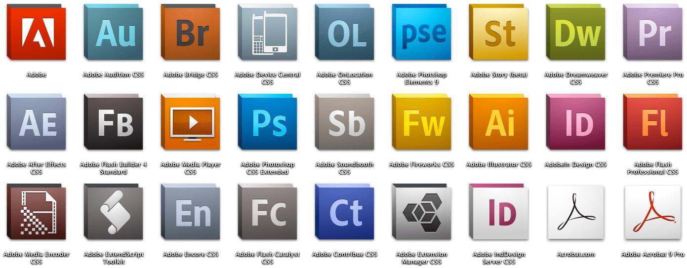 stock adobe cs5 icon