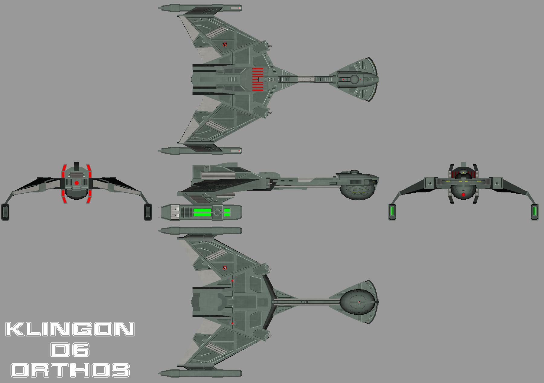 Klingon D6 Orthos By Chiletrek On Deviantart