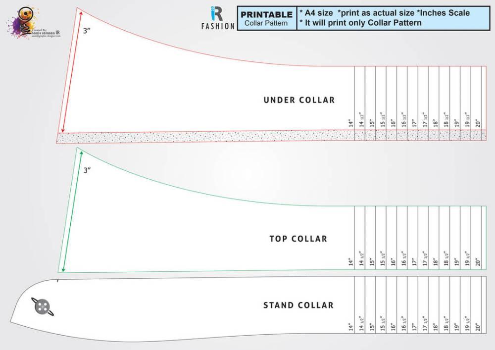 medium resolution of t shirt collar tutorial
