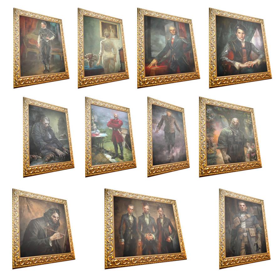 sokolov paintings by juliodrai