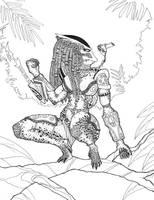 female predator by artdan24 on DeviantArt