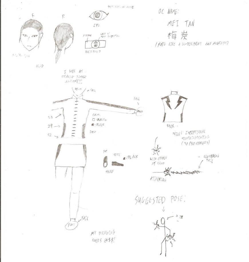Avatar OC: Mei Tan by Lombax786 on DeviantArt