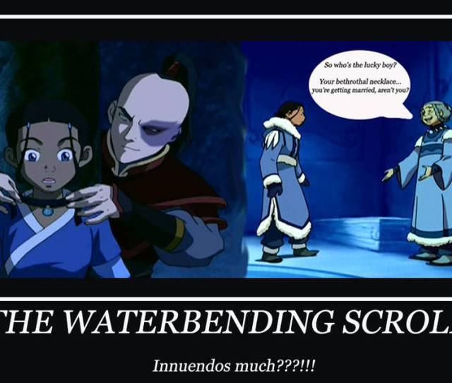 The Waterbending Scroll Motif By Renjiabaraigr