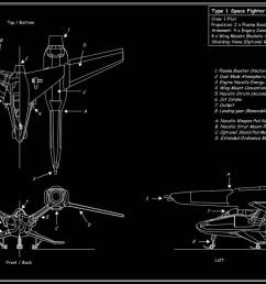 space fighter tech diagram by downshiftdx  [ 1191 x 671 Pixel ]