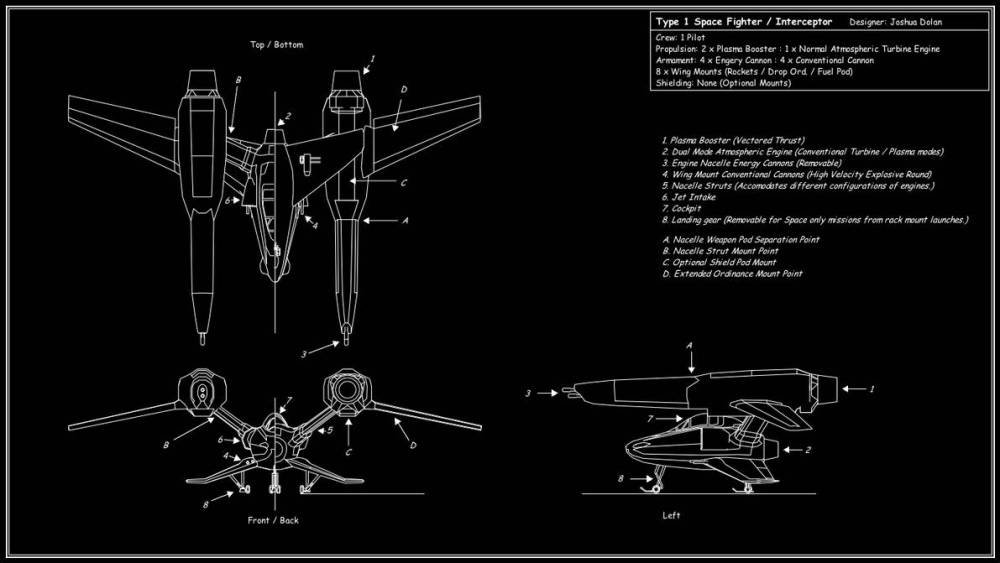 medium resolution of space fighter tech diagram by downshiftdx