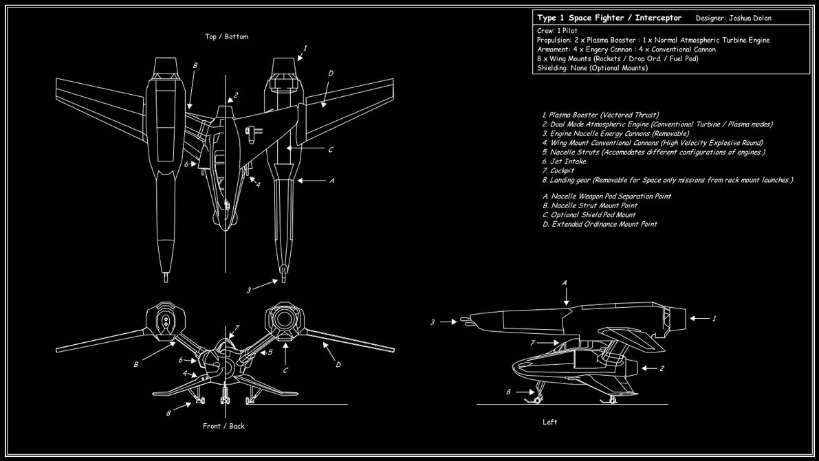 hight resolution of space fighter tech diagram by downshiftdx