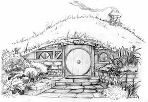 Hobbit Hole- A Happy Birthday To Professor Tolkien by