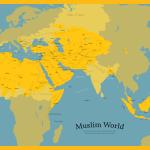 Muslim World Map Harakact