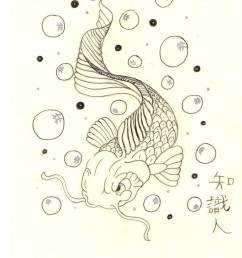 koi fish and bubbles by x pacman x  [ 762 x 1049 Pixel ]