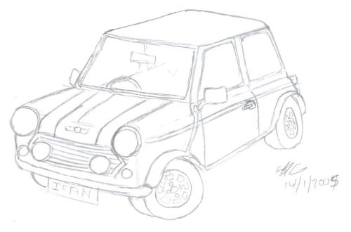 small resolution of mini cooper sketch by sions