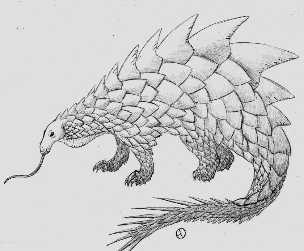 Retrosaur Challenge 9: Spike-Tailed Goliath by SaurArch on