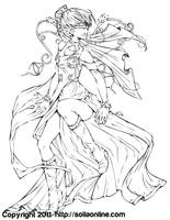 Coloring Page: Deli.Friction by SoliaArtTeam on DeviantArt