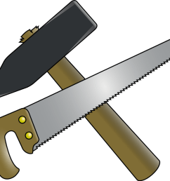hammer and saw clipart by 2992fuzi  [ 937 x 853 Pixel ]
