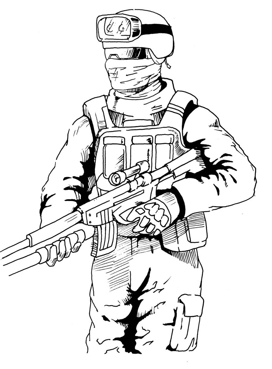 Call of Duty Guy by dthompson0190 on DeviantArt