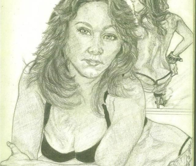 Pencil Sketch Of Sinn Sage By Marystreasures