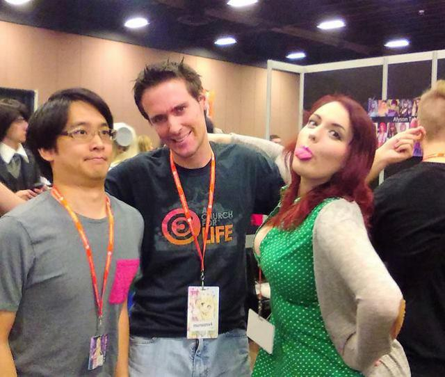 Meeting Howard Wang And Amber Lee Connors By Munsonx