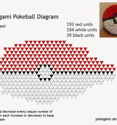 3d origami pokeball diagram by pokegami on deviantart 3d origami fox 3d origami diagram [ 1024 x 768 Pixel ]