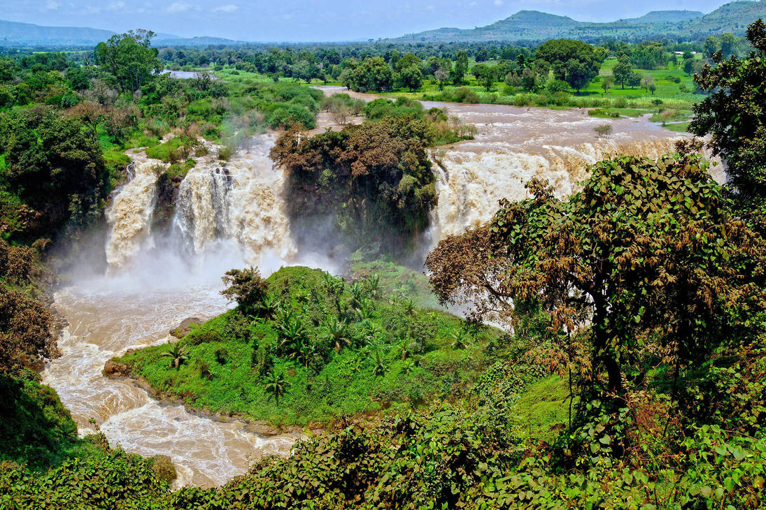 Blue Nile Falls Wallpaper Blue Nile Falls 2 By Citizenfresh On Deviantart